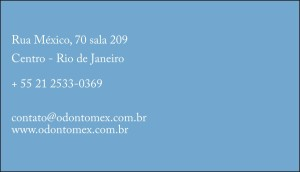 cartão de visita clínica_verso